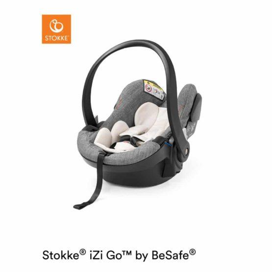 Stokke iZi Go Modular X1 i-Size κάθισμα αυτοκινήτου by BeSafe Black Melange