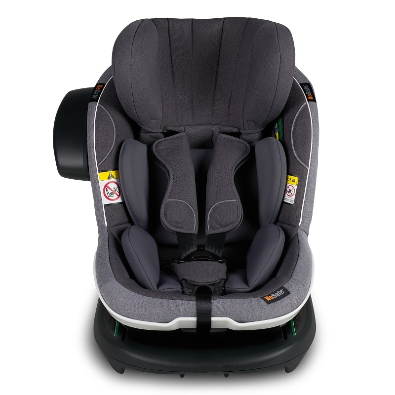 BeSafe iZi Modular i-Size Car Seat Metallic Black Melange