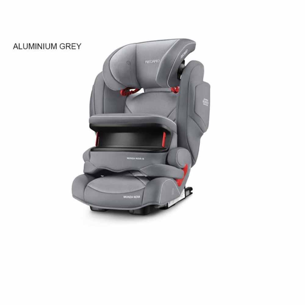Recaro Monza Nova IS /Aluminium-Grey Car Seat