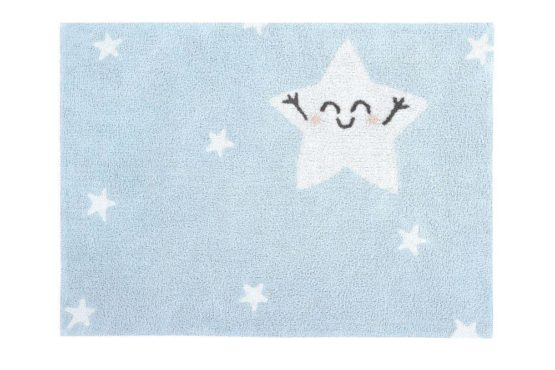 Lorena Canals. Χαλί δωματίου 120 x 160 εκ. Silhouette Mr Wonderful Happy Star Αστέρι