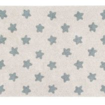 Lorena Canals. Χαλί δωματίου 120 x 160 εκ. Stars Natural Vintage Blue