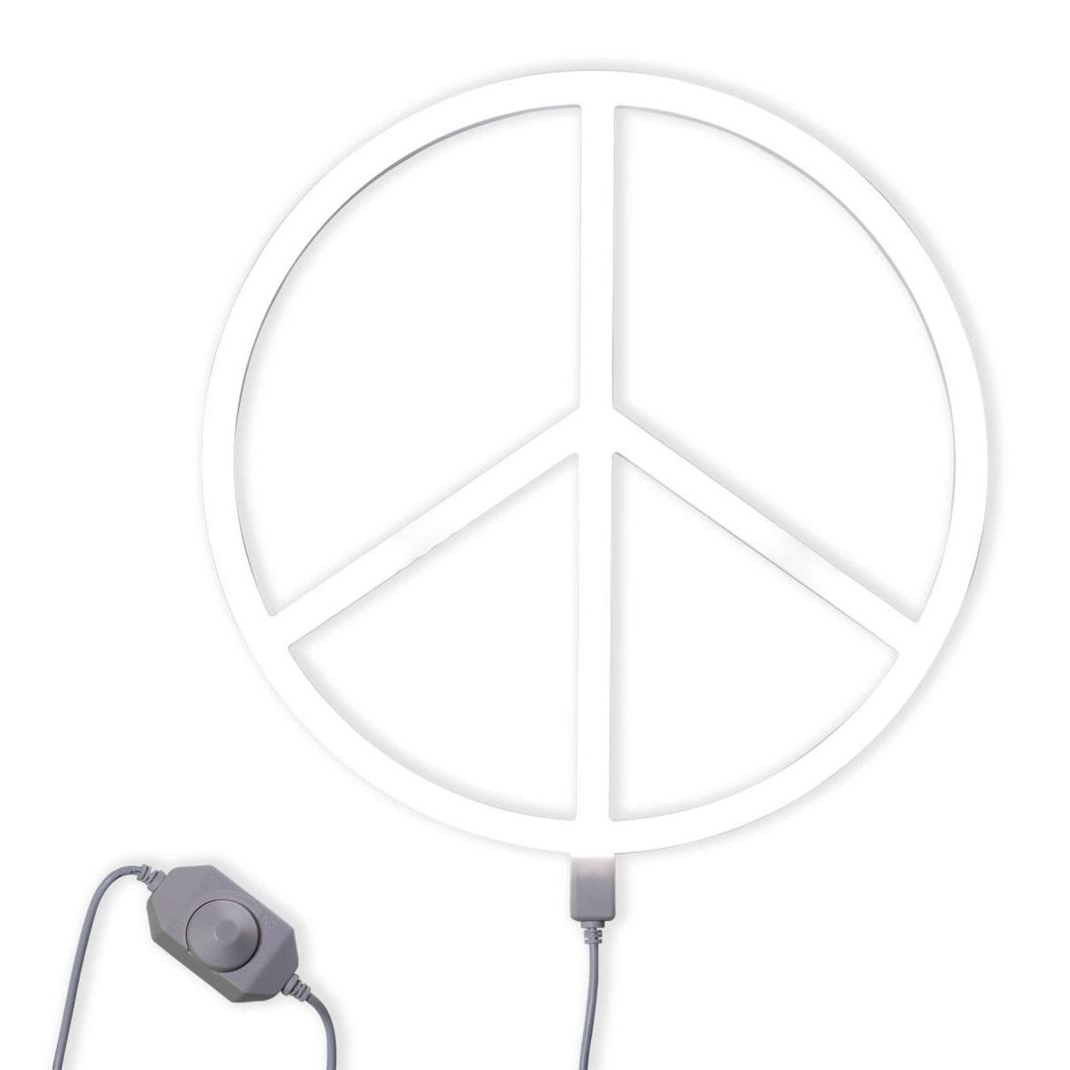 Nepewh Lr 3 Neon Style Light Peace White 3