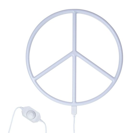 Nepewh Lr 4 Neon Style Light Peace White 3