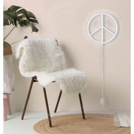 Nepewh Lr 6 Neon Style Light Peace White