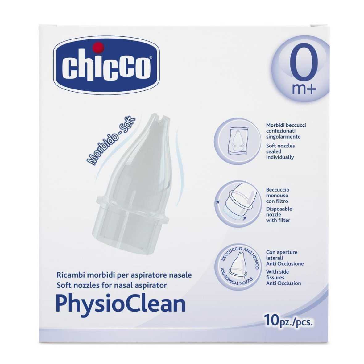 Chicco Physioclean Replacement Nozzles 10pcs