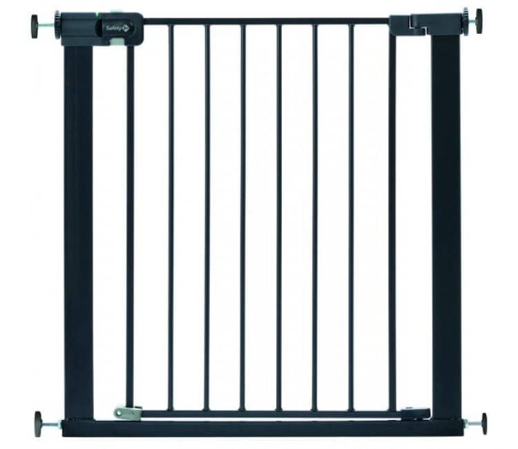 SAFETY 1ST Easy Close Metal Black Safety Bar