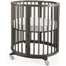 Stokke Sleepi Mini Crib Bundle Hazy Grey 2000x
