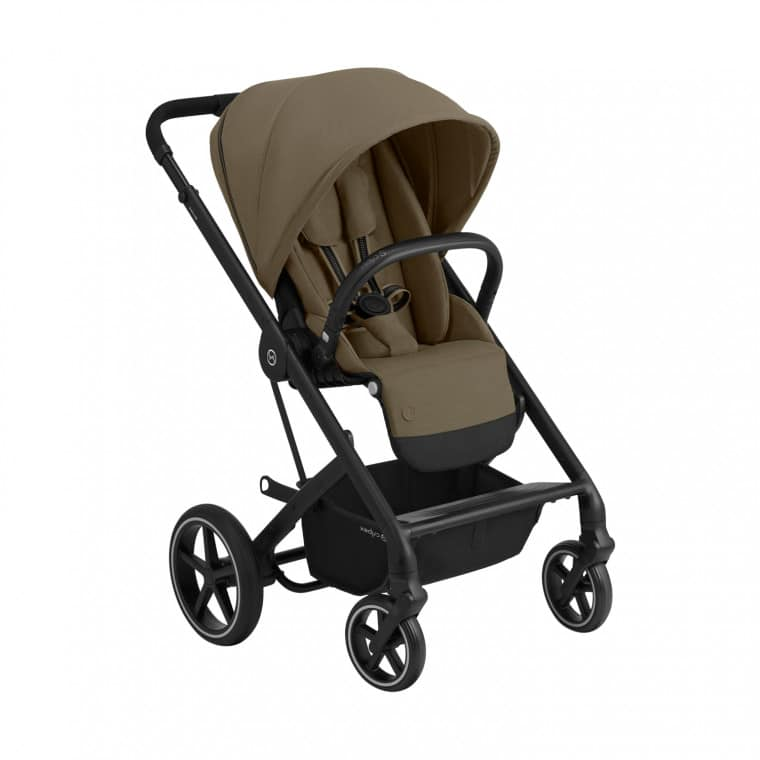 """Cybex Καρότσι Balios S LUX black frame Classic Beige """"Gold Edition"""""""