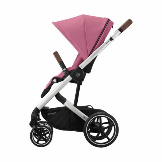 Cybex Balios S Lux Kinderwagen Silver Magnolia Pink