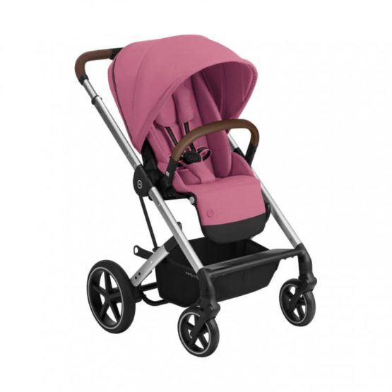 """Cybex Καρότσι Balios S LUX silver frame Magnolia Pink """"Gold Edition"""""""