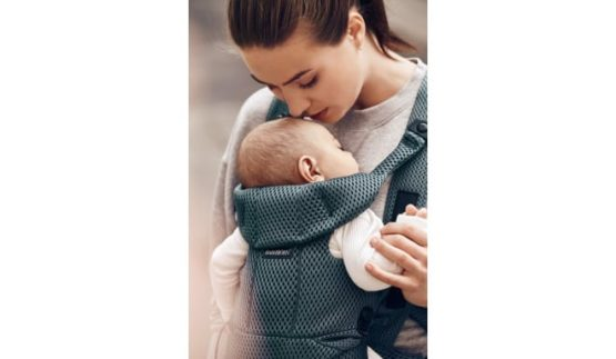 Babybjorn Baby Carrier Move Sage Green 3d Mesh (1)