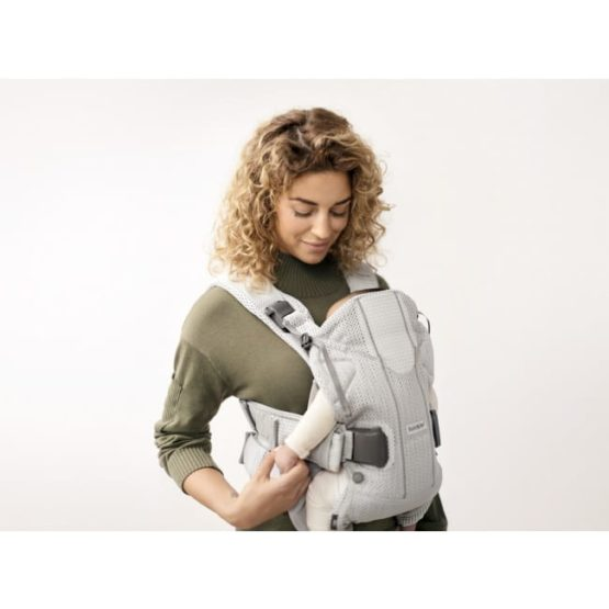 Babybjorn Baby Carrier One Air Silver 3d Mesh By Babybjorn 306