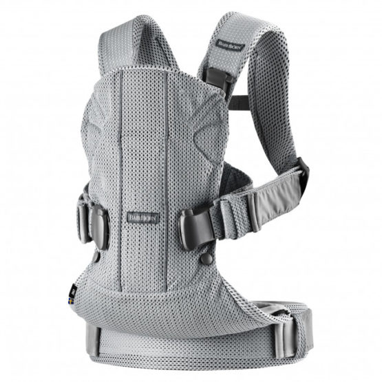 Babybjorn Baby Carrier One Air Silver 3d Mesh By Babybjorn 38c