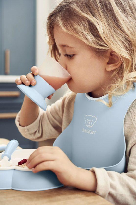Babybjorn Dinner Set Powder Blue 002