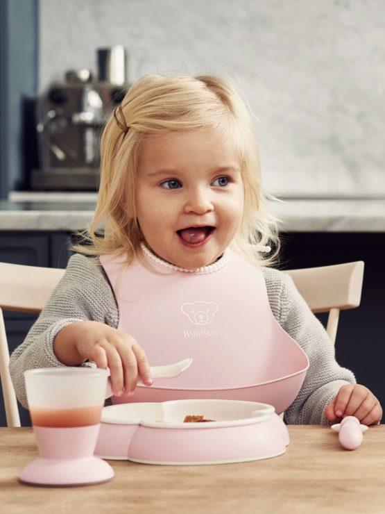 Babybjorn Dinner Set Powder Pink 001