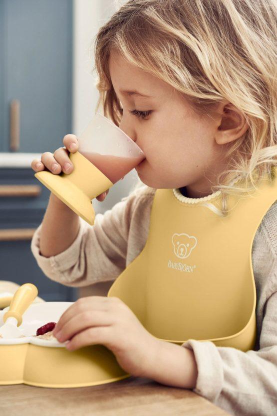 Babybjorn Dinner Set Powder Yellow 002