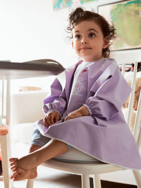 Babybjorn Long Sleeve Bib Purple 001