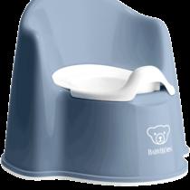 Babybjorn Potty Chair Deep Blue White 051269 001