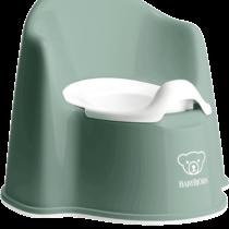 Babybjorn Potty Chair Deep Green White 055268 001