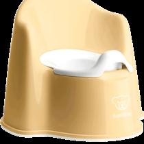 Babybjorn Potty Chair Powder Yellow White 055266 001 1