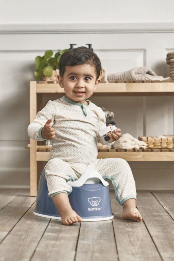 Babybjorn Smart Potty Deep Blue White 051269 002
