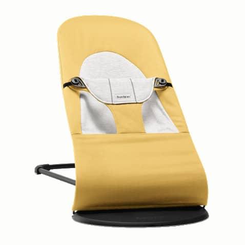 BabyBjörn ρηλάξ Balance Soft, Cotton/Jersey Yellow/Grey