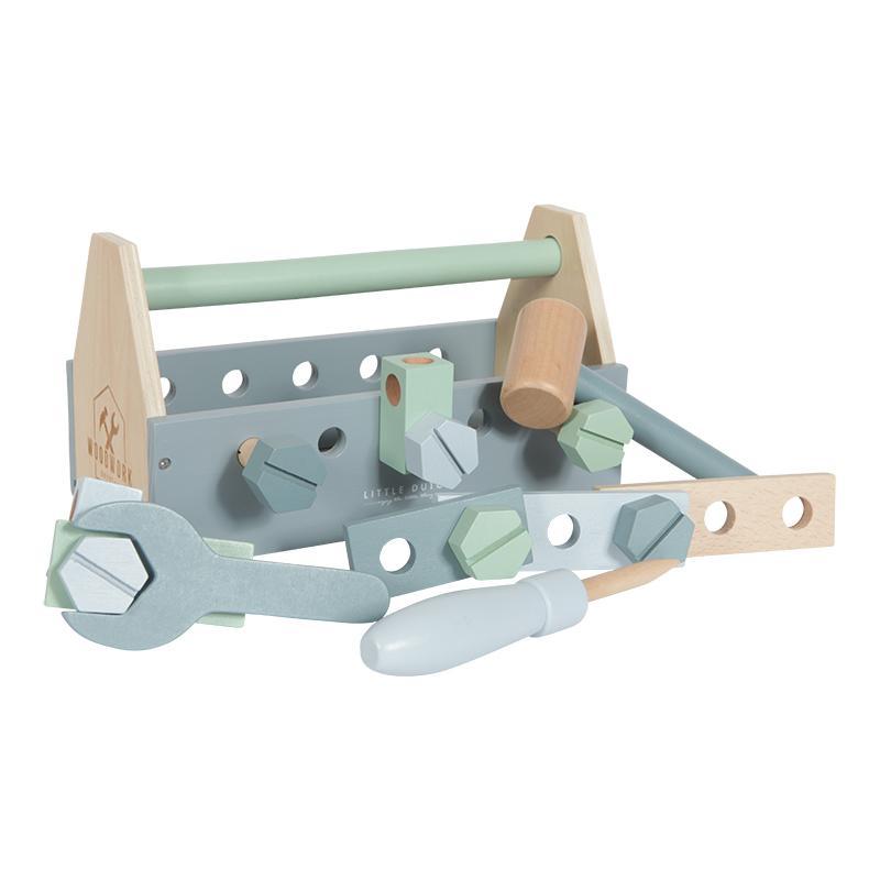 Wooden Tool Set Little Dutch 800x