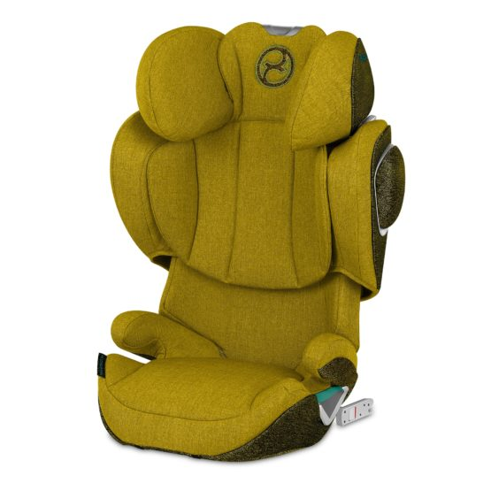 "Cybex Solution Z i-Fix PLUS Mustard Yellow ""Platinum Edition"""