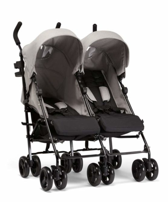 Mamas & Papas Καρότσι Cruise Buggy Twin Grey Marl