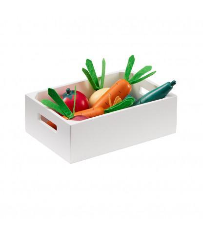 KIDS CONCEPT. Ξύλινο σετ λαχανικών