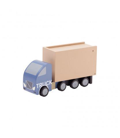 KIDS CONCEPT. Ξύλινο φορτηγάκι (πολύχρωμο)
