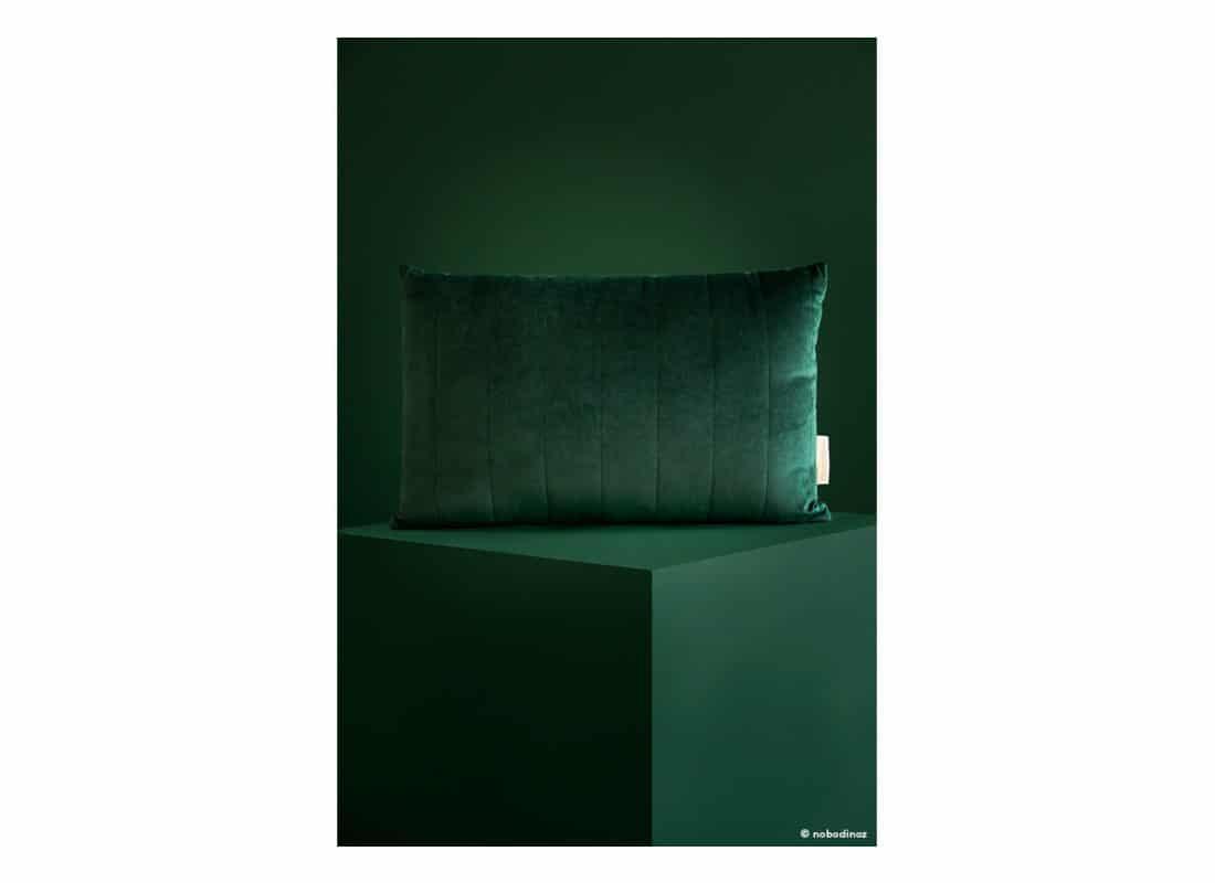 Akamba Velvet Cushion Coussin Cojin Savanna Jungle Green Nobodinoz 1b