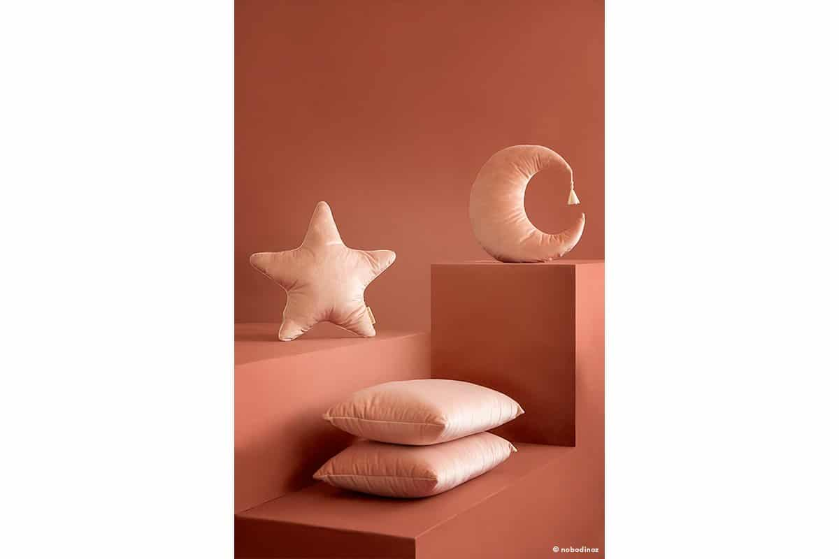 Aristote Star Akamba Pierrot Moon Velvet Cushion Coussin Cojin Savanna Bloom Pink Nobodinoz 1 1 74b1ada2 57d6 4029 8072 7762645069b6