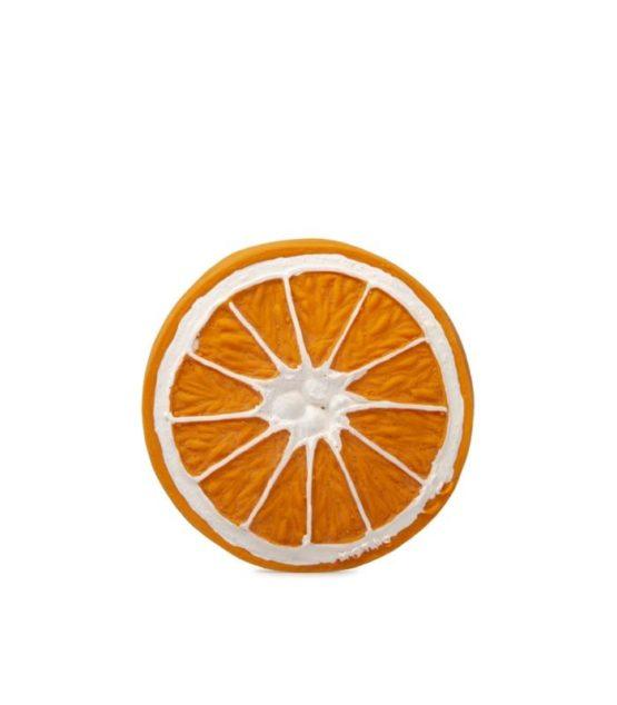 OLI&CAROL. Μασητικό από φυσικό καουτσούκ – Clementino το πορτοκάλι