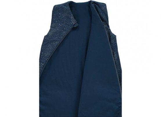 Cocoon Sleeping Bag Giogoteusse Saco De Dormir Gold Bubble Night Blue Nobodinoz 3