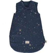 Cocoon Sleeping Bag Giogoteusse Saco De Dormir Gold Stella Night Blue Nobodinoz 1