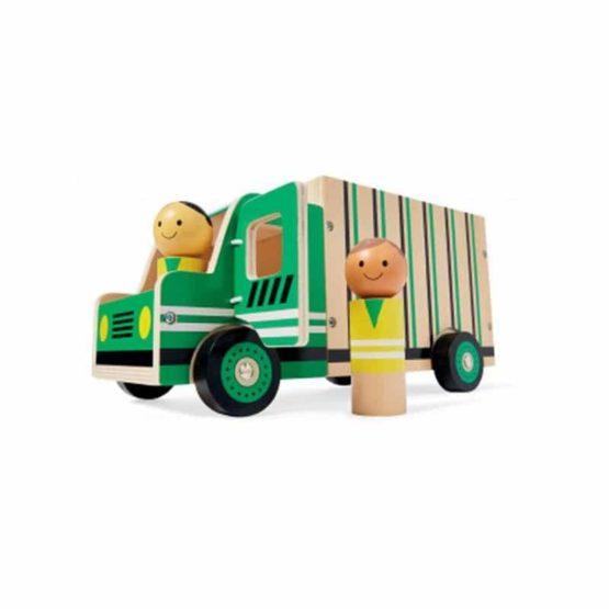 GERARDO'S. Όχημα ανακύκλωσης με ξύλινα ανθρωπάκια