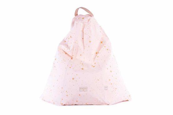 Marrakech Beanbag Gold Stella Dream Pink 2