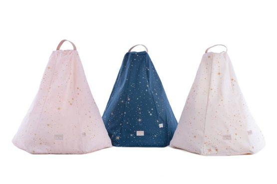 Marrakech Beanbag Pouf Puf Gold Stella Night Blue Natural Dream Pink Nobodinoz C7d24723 33a5 490a 9be2 C6683dc0e9c0
