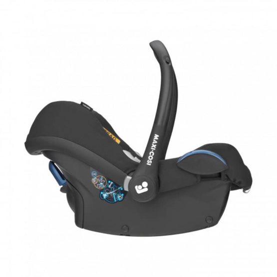 Maxi Cosi Cabriofix Baby Autostoeltje Essential Black 2 (1)