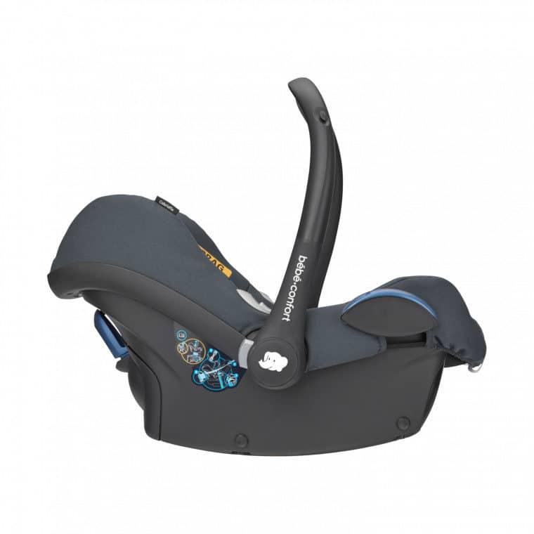 Maxi Cosi Cabriofix Baby Autostoeltje Essential Graphite 2