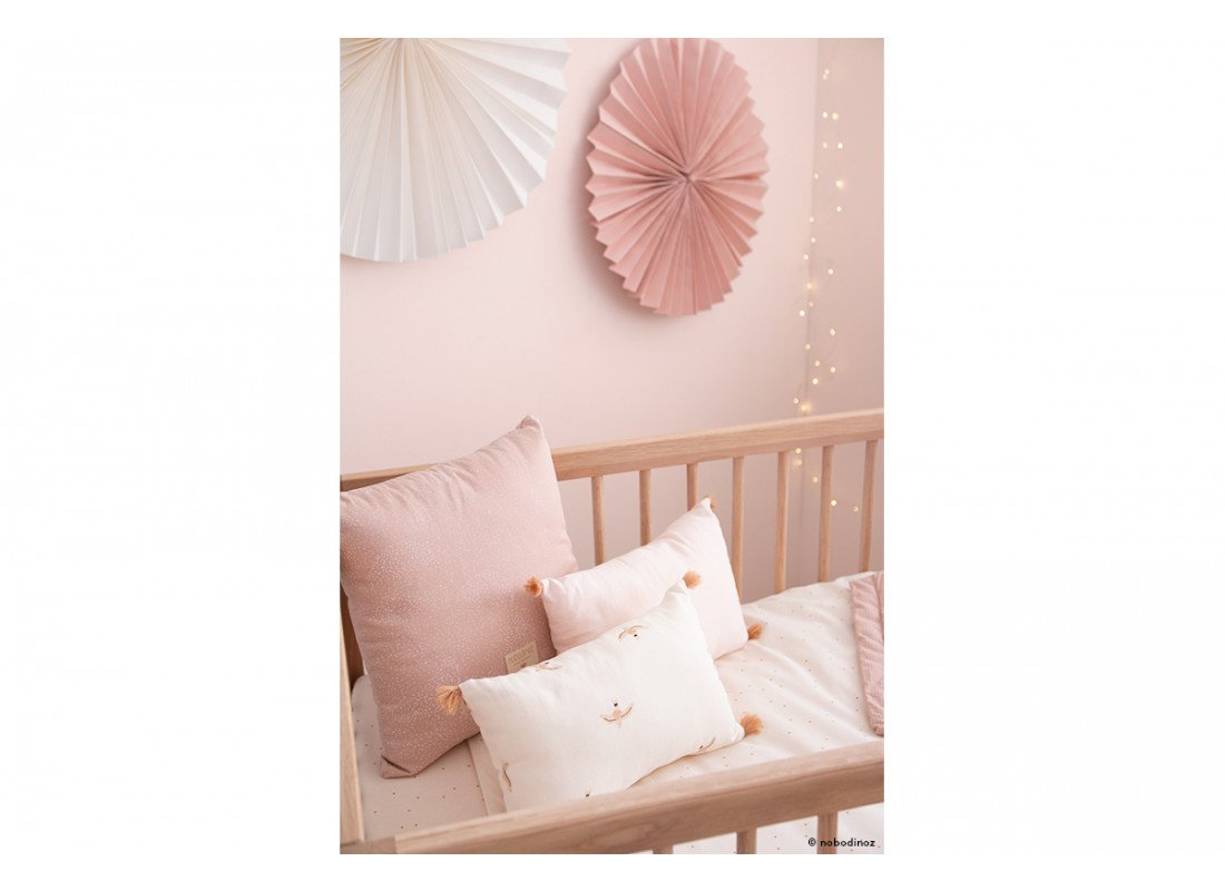 Mood Haiku Birds Pink Rosa Rose Sublim Cushion Cojin Coussin Cuna Crib Utopia Curtain Nobodinoz 3