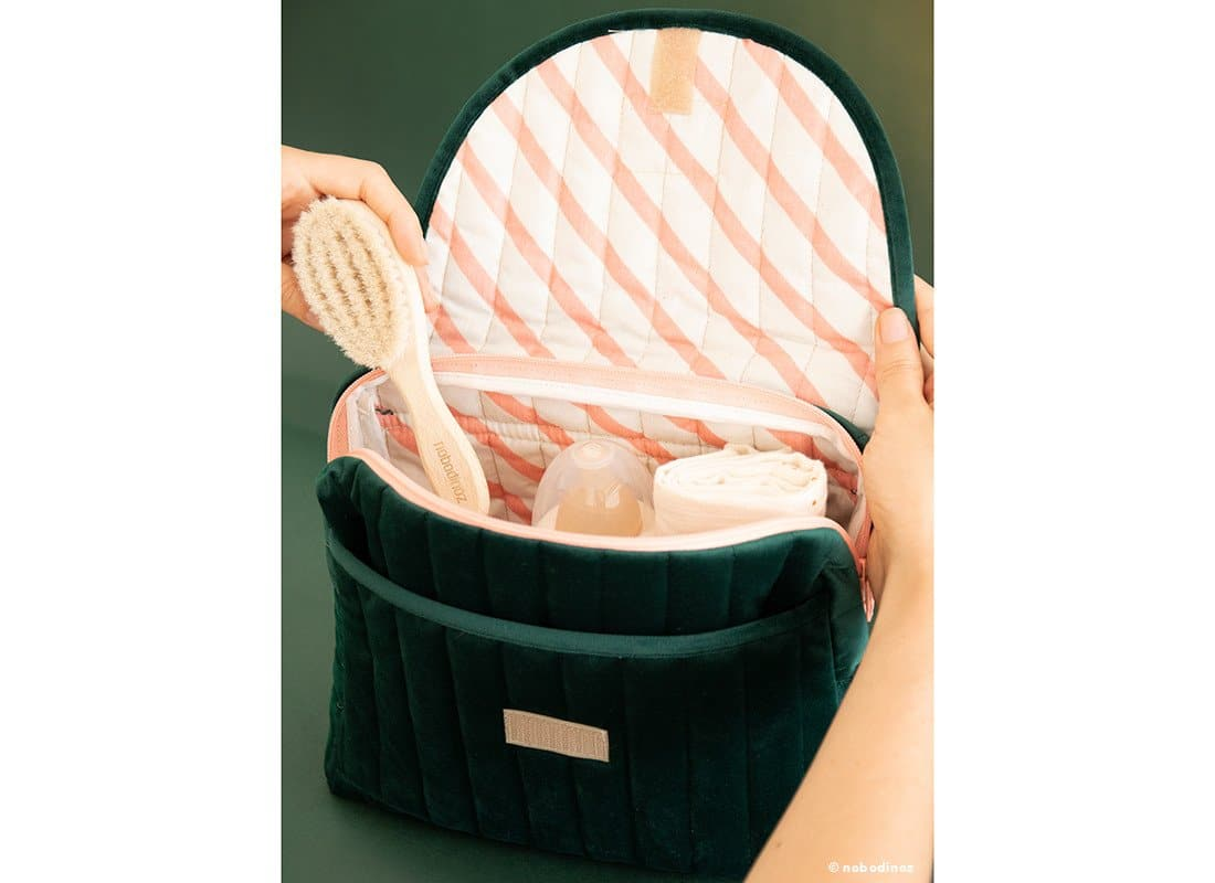 Mood Nobodinoz Savanne Maternity Case Jungle Green 3
