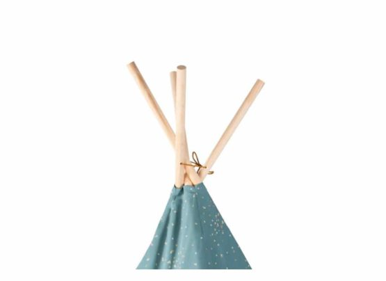 Phoenix Teepee Tipi Gold Confetti Magic Green Nobodinoz 2