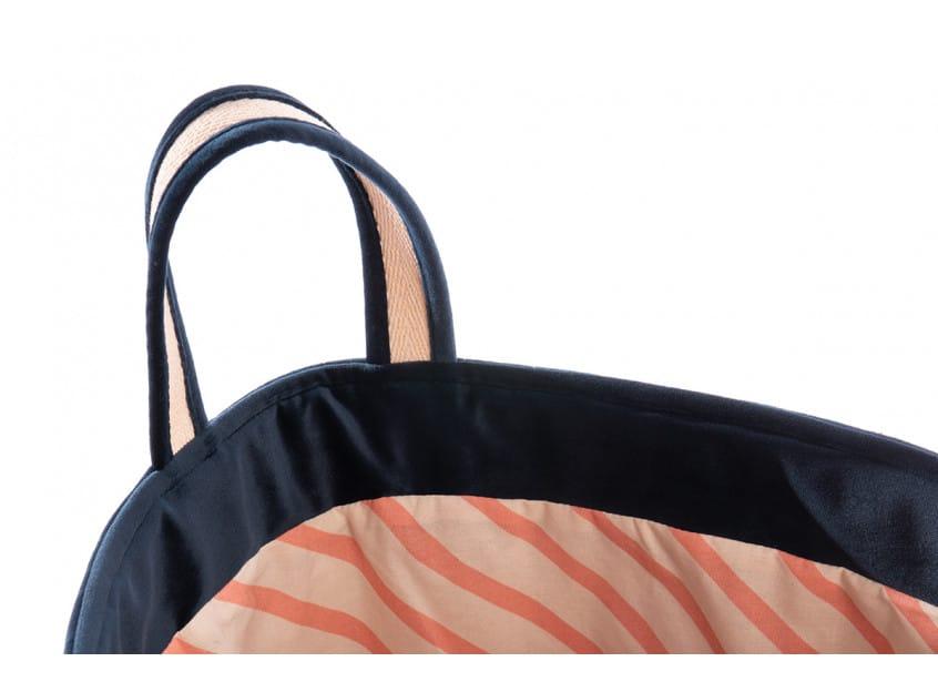 Savanna Toy Bag Night Blue Sacs De Jouets Saco Juguetes Nobodinoz 2