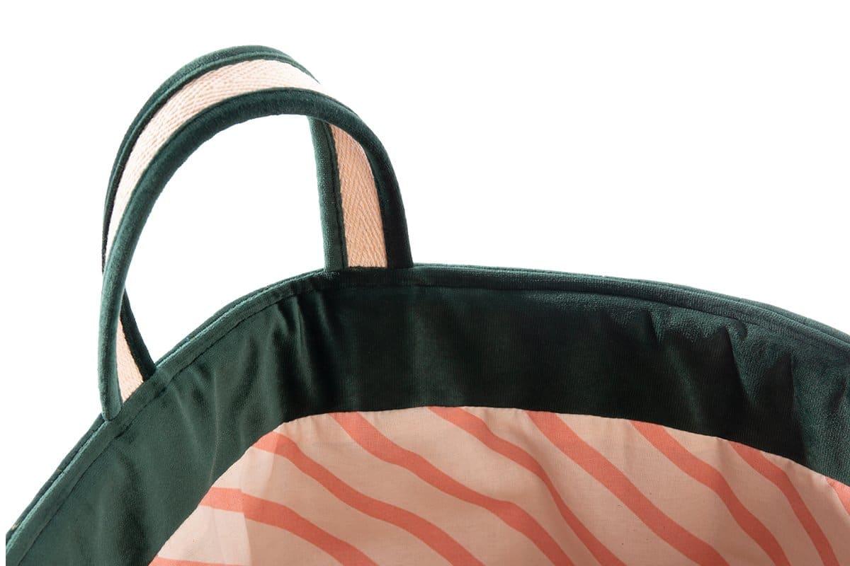 Savanna Toy Bag Sacs De Jouets Saco Juguetes Jungle Green Nobodinoz 2