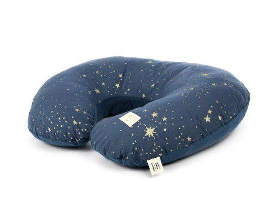 Nobodinoz. NEW ELEMENTS. Μαξιλάρι θηλασμού Sunrise Gold stella/ Night blue