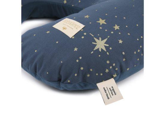 Sunrise Nursing Pillow Coussin Dallaitement Cojin De Lactancia Gold Stella Night Blue Nobodinoz 2