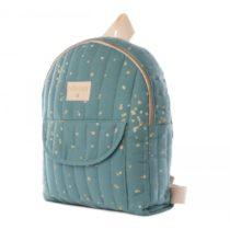 Too Cool For School Kid Backpack Gold Confeti Magic Green Nobodinoz 3