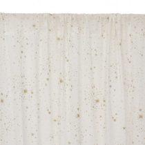 Utopia Curtain Rideau Cortina Gold Stella White Nobodinoz 2 1